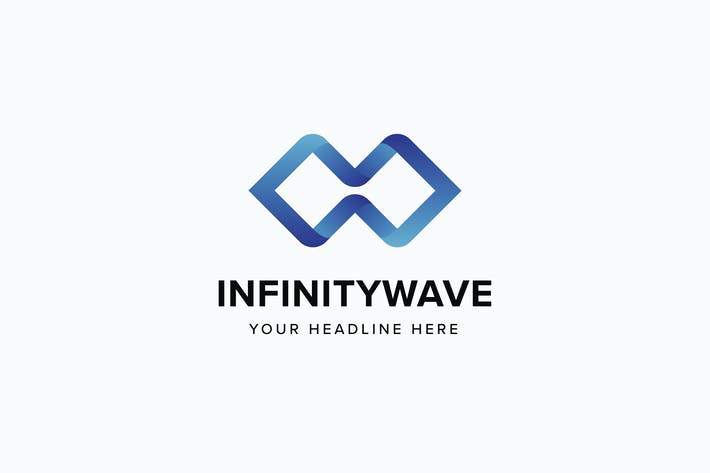 Thumbnail for Infinity Wave Logo Template