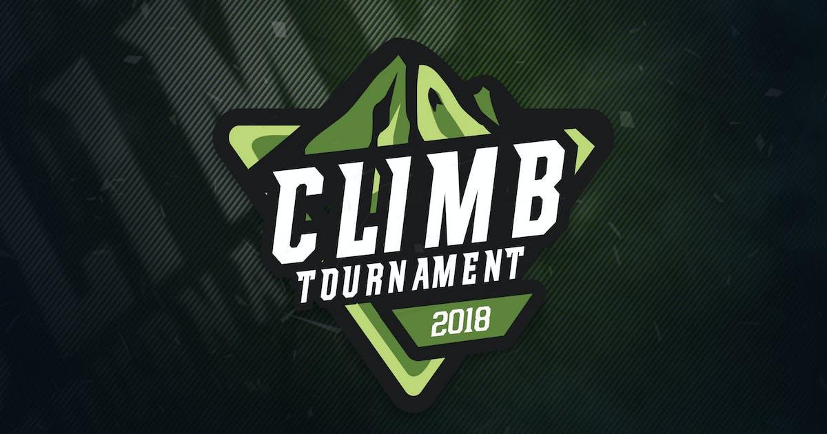 Download Climb Tournament Sports logo by ovozdigital