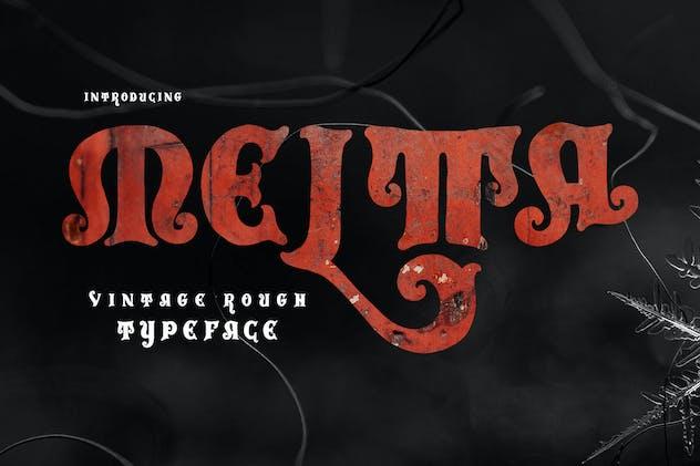 Meltta Typeface