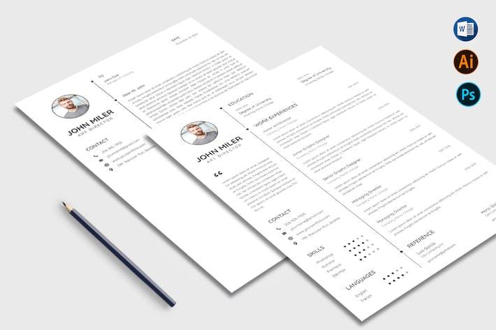 Thumbnail for Business Resume CV