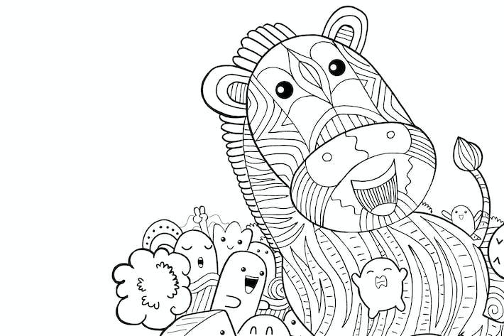 Thumbnail for Zebra Doodle