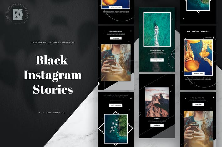 Thumbnail for Black Instagram Stories