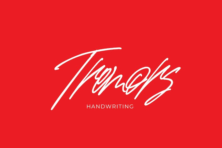 Thumbnail for Tremors handwriting