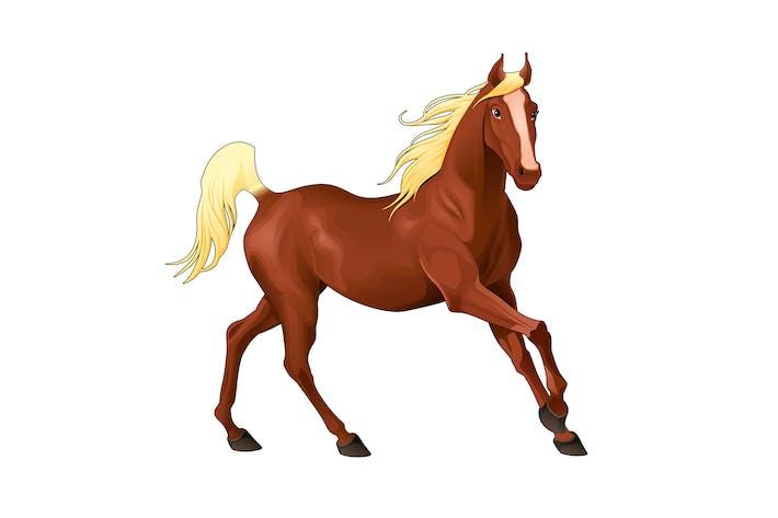 Элегантный Лошадь