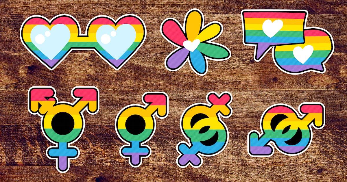 Download LGBTQI Pride Labels Set by barsrsind