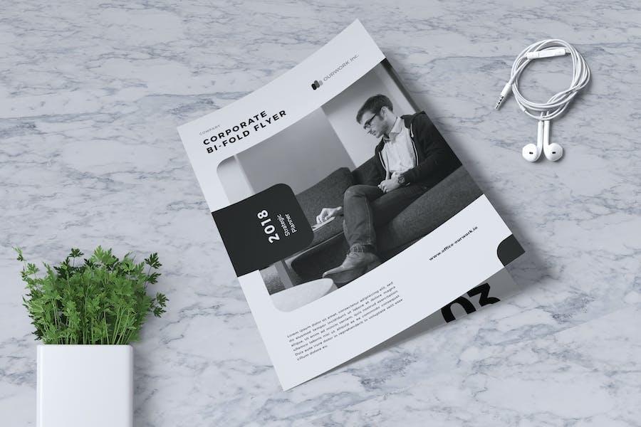 Corporate Business Bifold Flyer Vol. 05