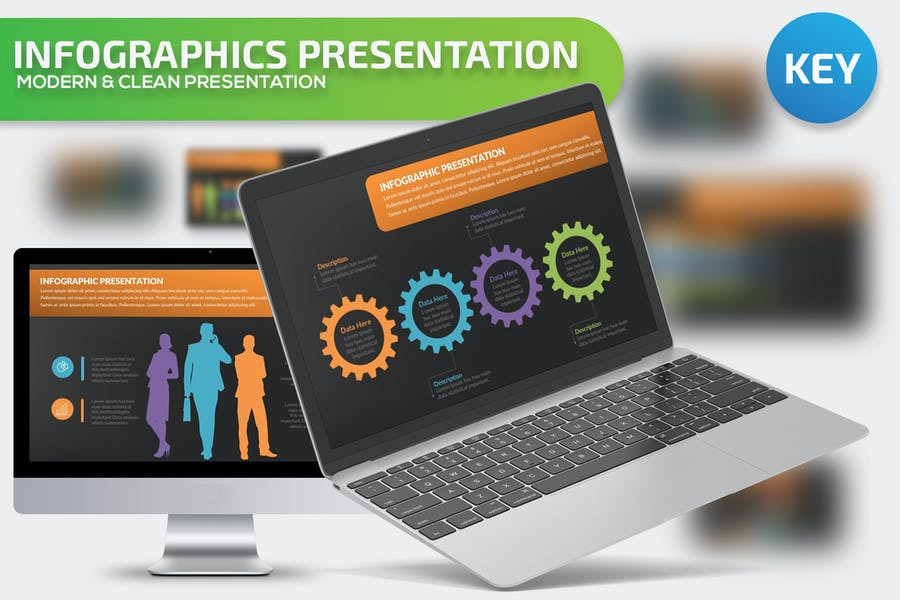 Infographics Keynote Presentation - product preview 0