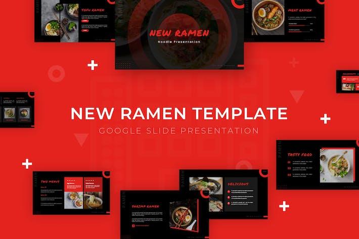 Thumbnail for New Ramen - Google Slide Template