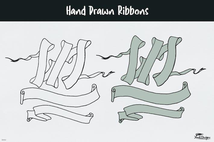 Thumbnail for Hand Drawn Ribbons