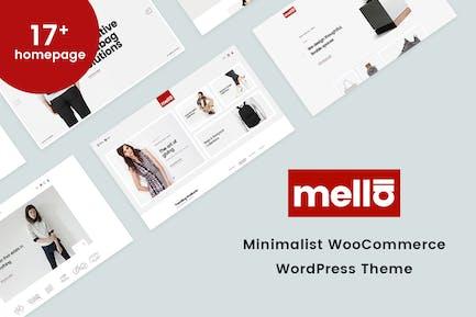 Mella - Minimalistische WooCommerce WordPress Thema