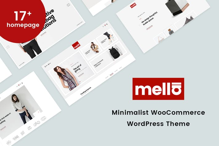 Thumbnail for Mella - Minimalist WooCommerce WordPress Theme