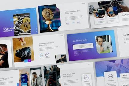 Cryptoloct Millionaire Powerpoint Presentation Tem