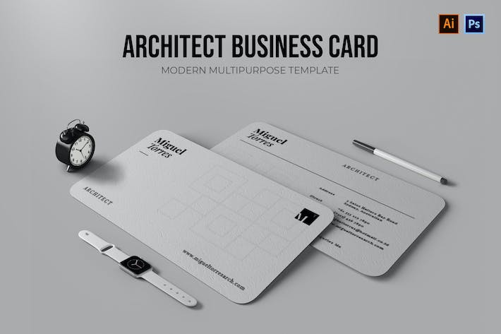 Thumbnail for Architect - Business Card