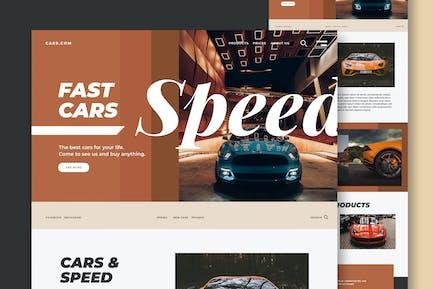 Cars & Speed - Website