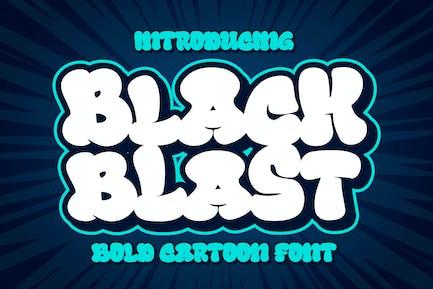 Black Blast a Bold Comic Font