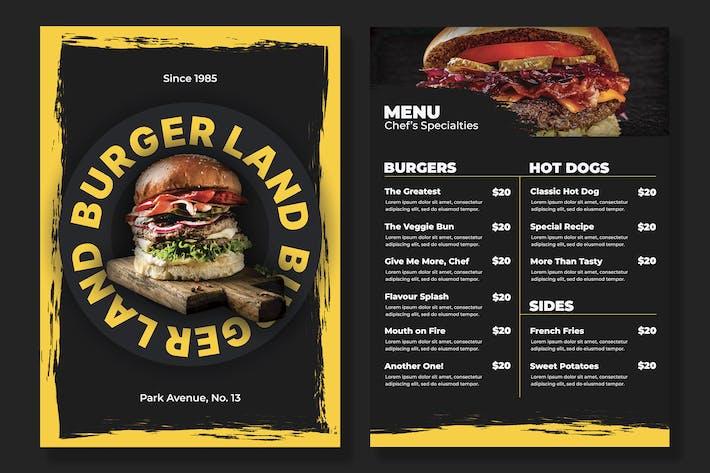 Restaurant Menu | Fast Food