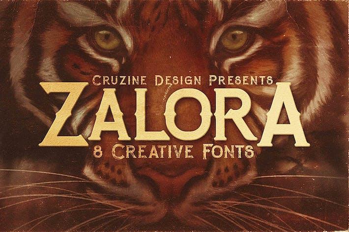 Thumbnail for Zalora Typeface