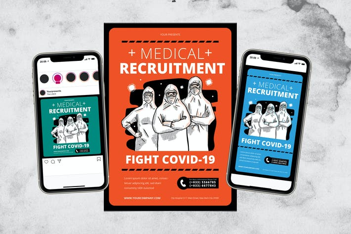 Thumbnail for Medical Recruitment Fight Covid-19