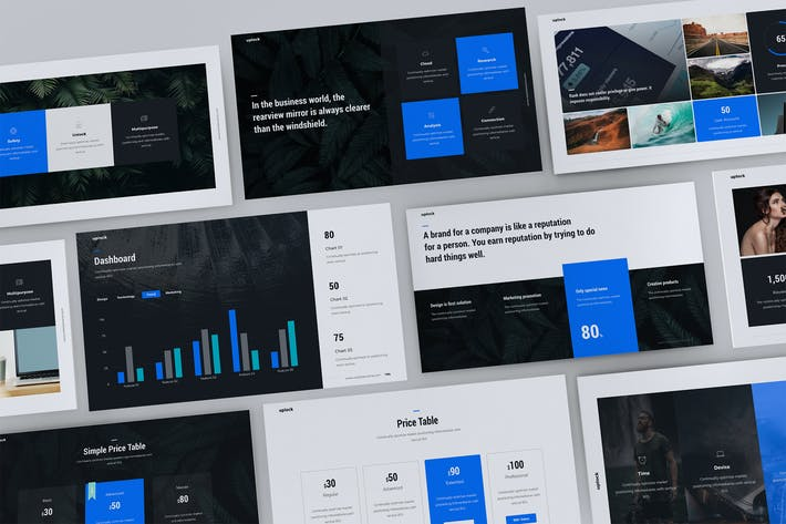 Thumbnail for UPLOCK - Business & Multipurpose Template (PPTX)
