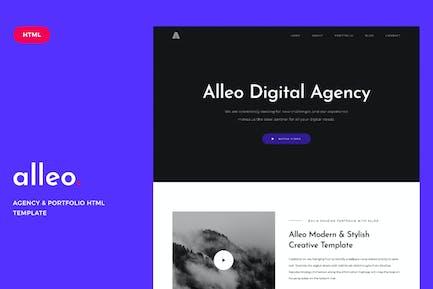 Alleo - Agency & Portfolio HTML Template