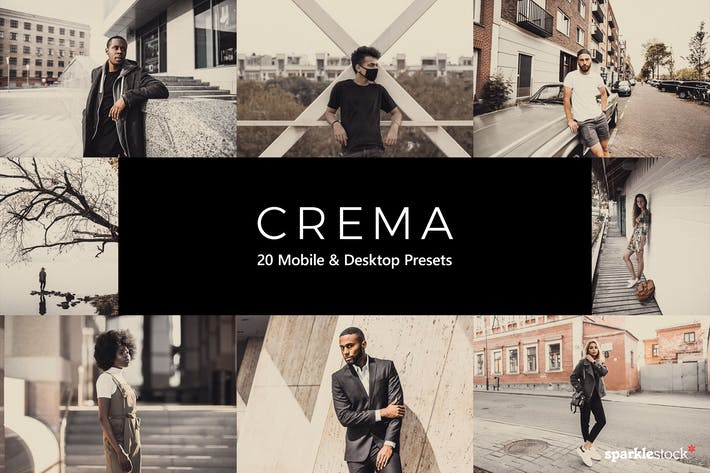 Thumbnail for 20 Crema Lightroom Presets & LUTs
