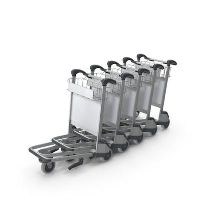 Baggage Airport Trolleys