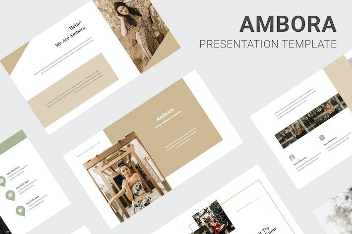 Cover Image For Ambora - Summer Fashion Google Slides