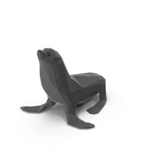 Low Poly Sea Lion