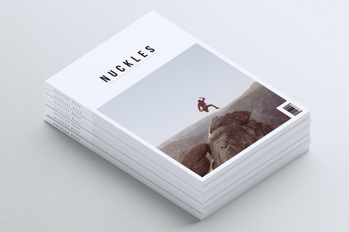 Thumbnail for NUCKLES // Minimal Lookbook Magazines