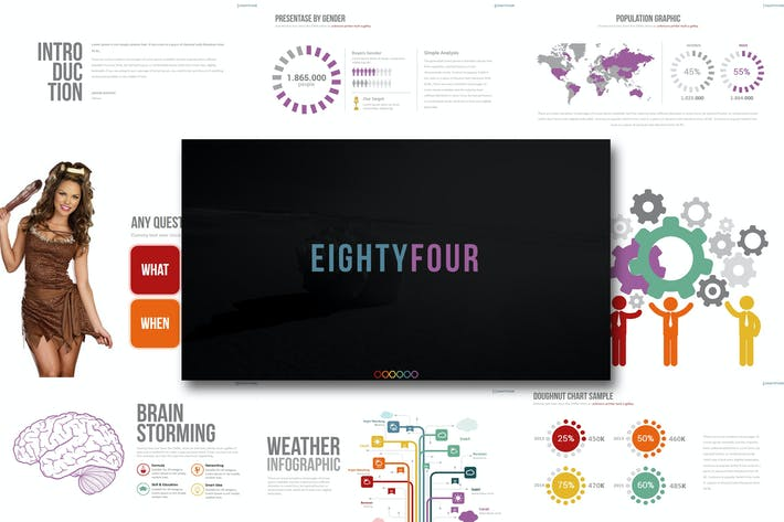 Cover Image For Eighty 4 - Powerpoint Template