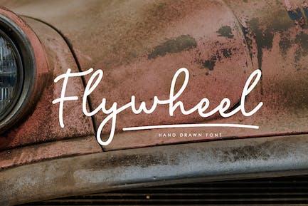 Flywheel Script Font