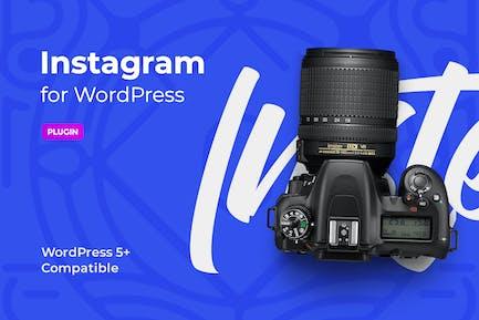 Instagram block for WordPress editor
