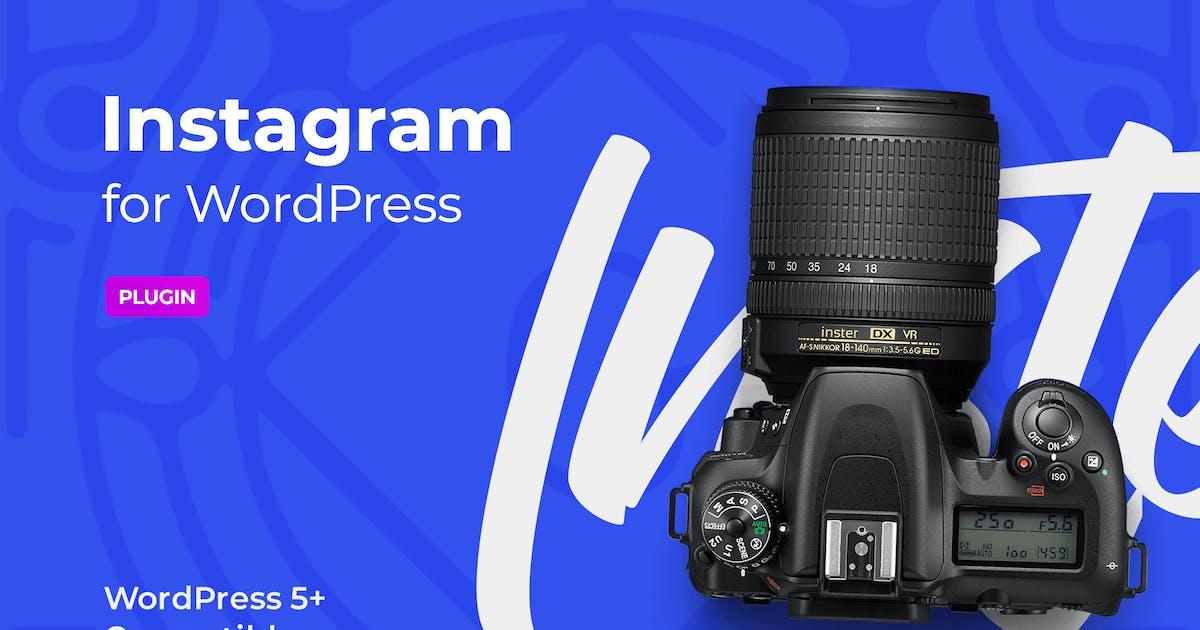 Download Instagram block for WordPress editor by merkulove