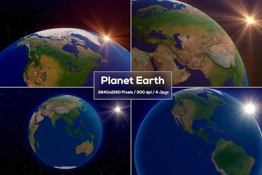 Hintergründe der Erde