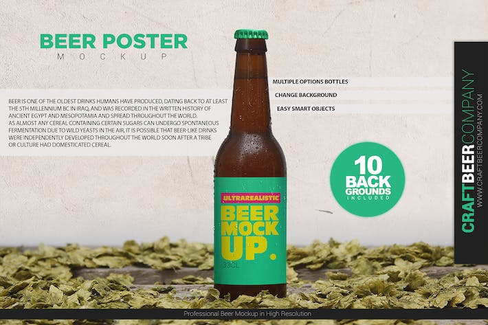 Thumbnail for Beer Poster Template