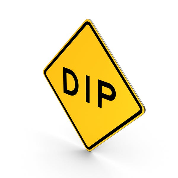 Thumbnail for Dip Road Sign