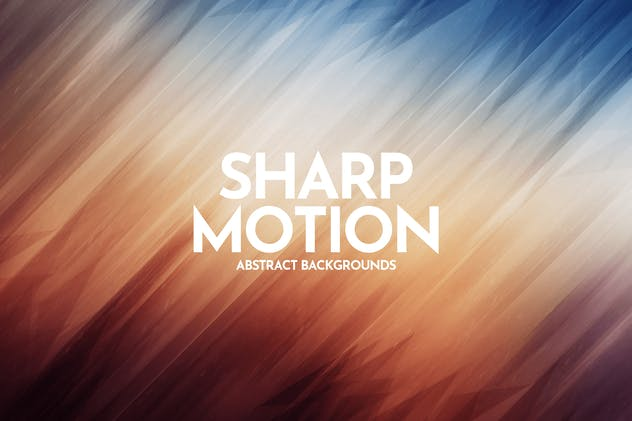 Sharp Motion Backgrounds