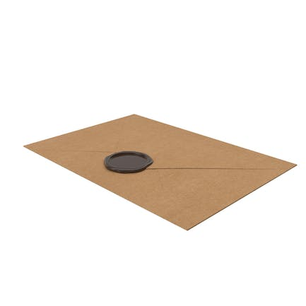 Craft Envelope with Wax Seal