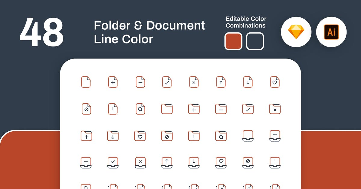 Download Folder and Document Line Color by sudutlancip