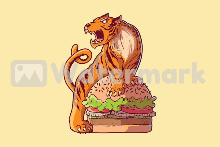 Thumbnail for Tiger burger
