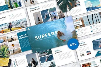 Surfers - Creative Business Googleslide Template