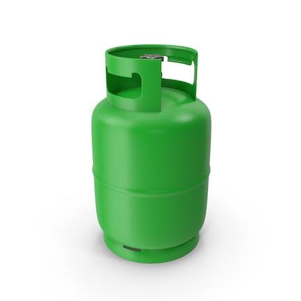 Tanque de Gas Verde