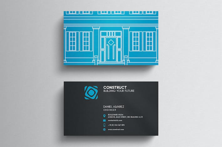 Thumbnail for Architect Business Card Template