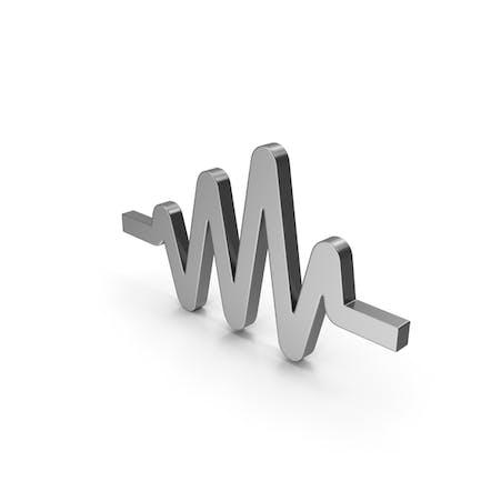 Pulse Symbol Steel