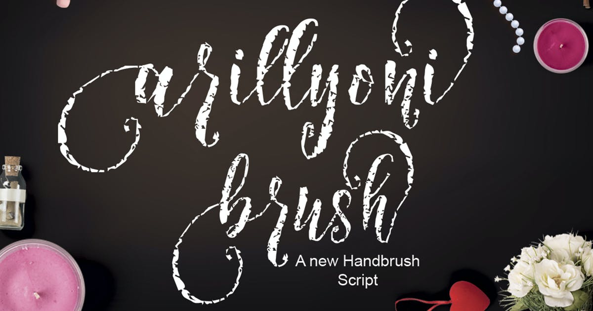 Download Arillyoni Brush by moriztype