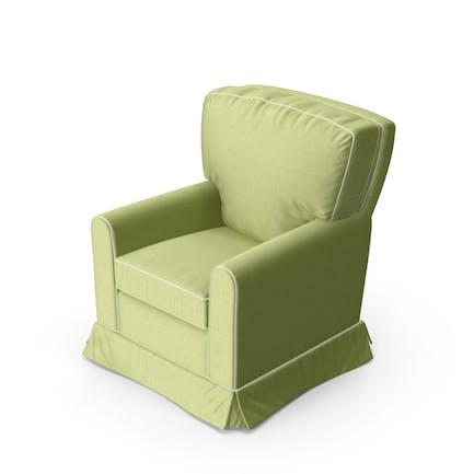 Green Swivel Armchair