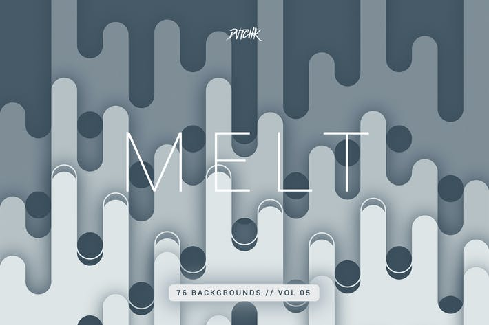Thumbnail for Melt | Abstract Rounded Backgrounds | Vol. 05