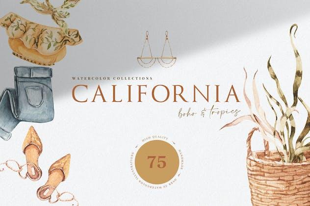 California. Boho Outfit & More
