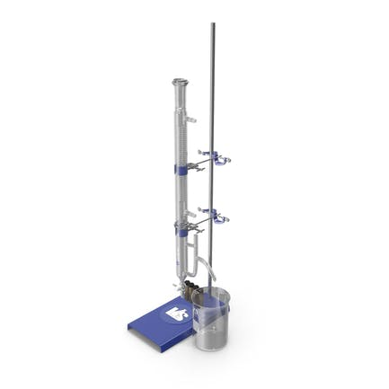 Lab Stand with Flask