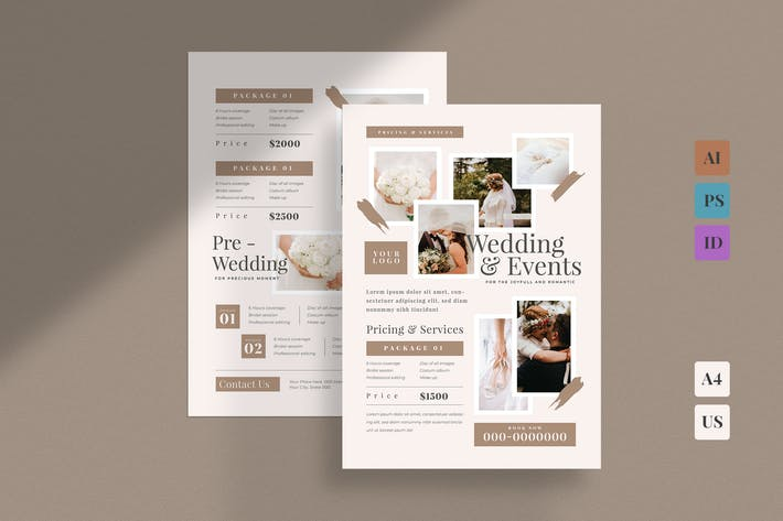 Thumbnail for Photography Pricing Guide Template